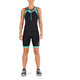 2XU Active Damer sort/turkis